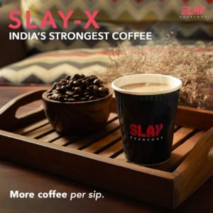 Slay coffee – Strong & aromatic